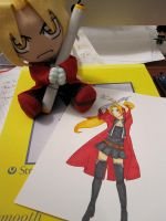 Ed's copic practice by Lily-P