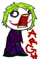 Joker ARGH by Artist-Moo