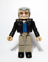 Stan Lee Custom Minimate by luke314pi