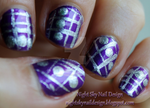31 Day Challenge, Day 5: Purple Nails by nightskynaildesign