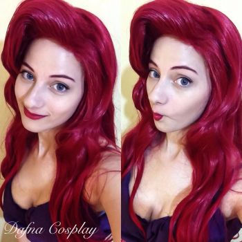 Ariel The Little Mermaid cosplay by Dafnash