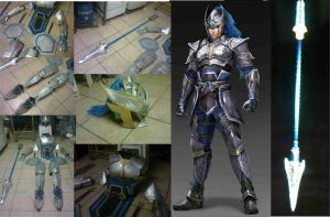 Dynasty Warriors - Wen Yang's armor by karlonne