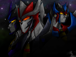 The three seekers by tbggtbgg