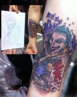 Joker Tattoo by ShannonRitchie
