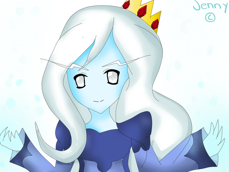 Snow Powers: Ice Queen by kawaiigirl300