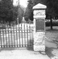 God's Acre Cemetery Gates by cmichelle-art