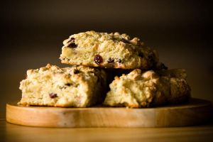 Cranberry Scones by sugendran