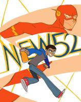 New 52 Wally West by ActionKiddy