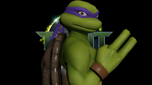 TMNT - Donatello Wallpaper by SilverMoonCrystal