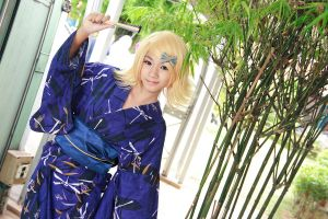 Vocaloid Yukata - Rin by Xeno-Photography