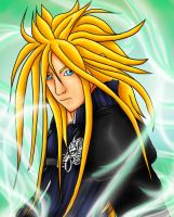 Cloud Strife with long hair by Goddess-Storm