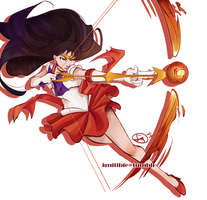 Sailor Mars by ignitible