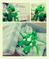 Scyther Cold Porcelain - Biscuit by rita937