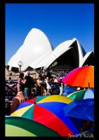 Colour at Sydney Opera House by A-Ph1