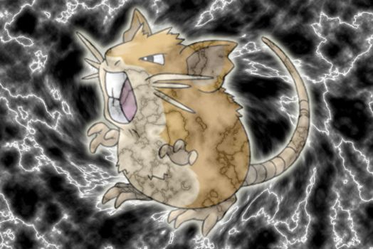 Raticate by joshuanjohnson3