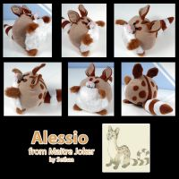 Alessio Ball Plushie by Sethaa