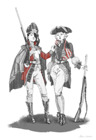 Couture american revolution by quargon