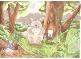 Does Totoro Sh:t in the Woods by LunacyFestival