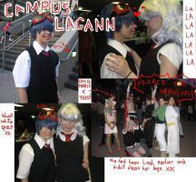 Campus Lagann for the lulz. by kerii-tan