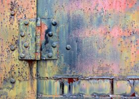 Rusty Hindge Stock Photo DSC 0243 by annamae22
