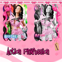 Action Pinkfussion by kittymoon23