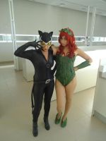 CATWOMAN and POISON IVY by Prometheacosplay