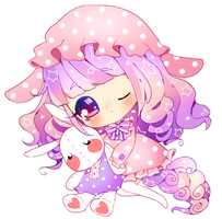 C: Muffin-Doll by PuffyPrincess