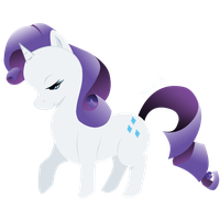 Rarity Vector by elenawing