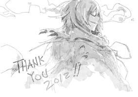 2012 thank you by wickedAlucard