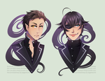 The Twins by The-cannibal-sheep