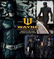 Armor up, the Wayne way! by AlertasJ