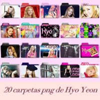 20 carpetas png de Hyo Yeon by kkaebsongaily