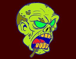 zombie-head-monsters-painted-by-cema1cema-80598A by bigkrocks