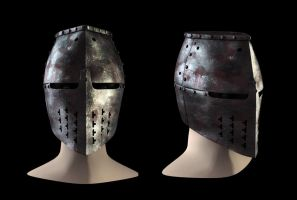 13th Century Great Helm by eRe4s3r