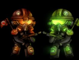 Party Troopers by puinkey