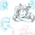 EG :: Warm up Sketches by SpaceJacket