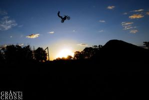Griffith Sunset session by GrantFMX