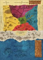 Map of Oz by Sapiento