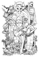 Link and the Legend of Zelda by deankotz