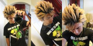Crazy Anime Hairstyle by sonicJKevin