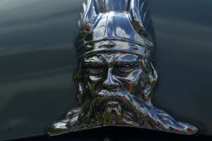 Chrome Viking by Clangston