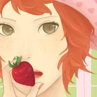 Strawberry Shortcake by sheepsgobaaa
