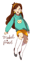 mabel pines by Flarefyre