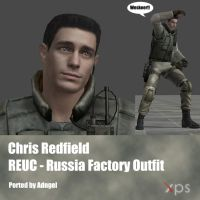 Chris Redfield RE UC Russia Factory Outfit by Adngel