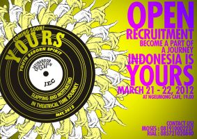 YOURS open recruitment poster by jawajawas