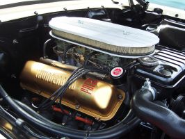 '64 Ford 390 Tri-Power by DetroitDemigod