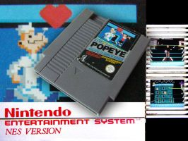 Popey NES game by agkeycreative