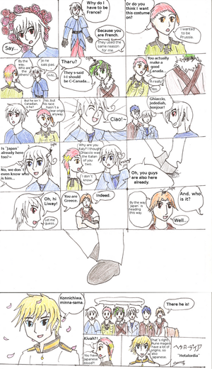 My OCs - Cosplaying Hetalia