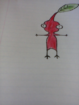 Red Pikmin by awesomeFinn746