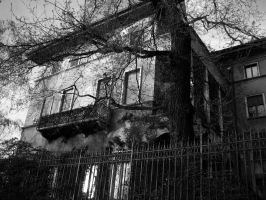 Creepy House by Sasa-Van-Goth